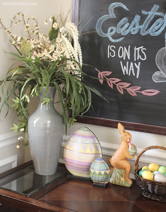 easter foyer decorations