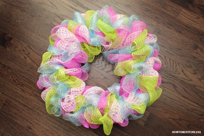 easter mesh wreath ideas