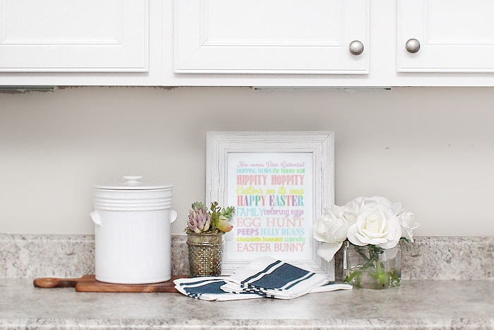 easter printable kitchen