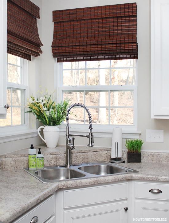 kitchen sous kohler faucet