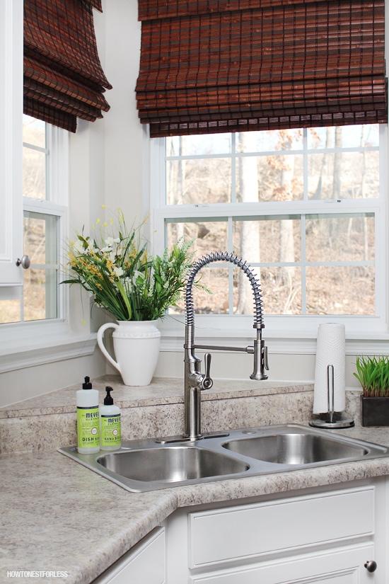 kohler sous kitchen faucet