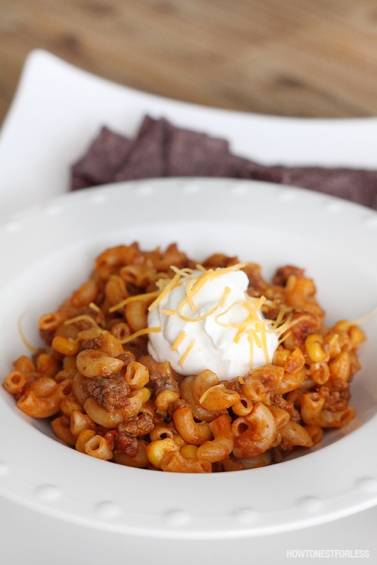 Mexican One Pot Pasta