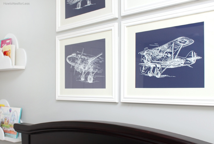 sketch airplane kids printables