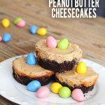 Reese's Pieces Peanut Butter Mini Cheesecakes