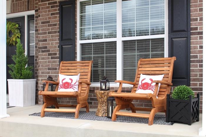 front porch makeover hayneedle sm