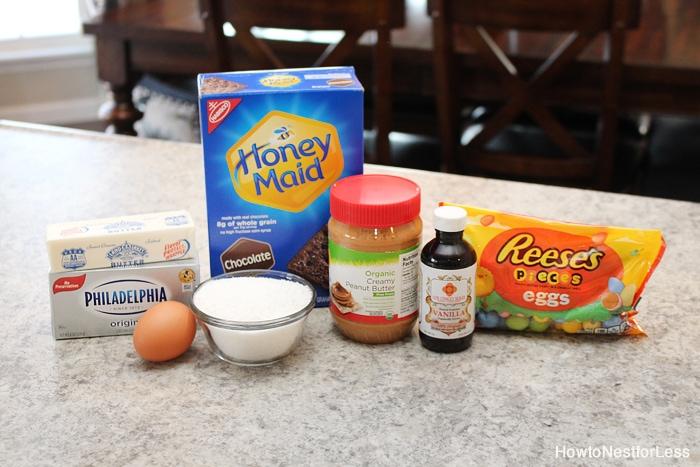 peanut butter cheesecake ingredients