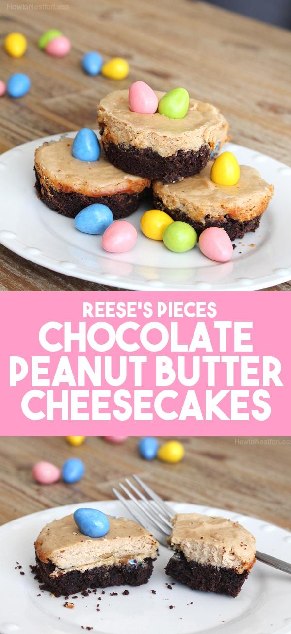 peanut-butter-mini-cheesecake