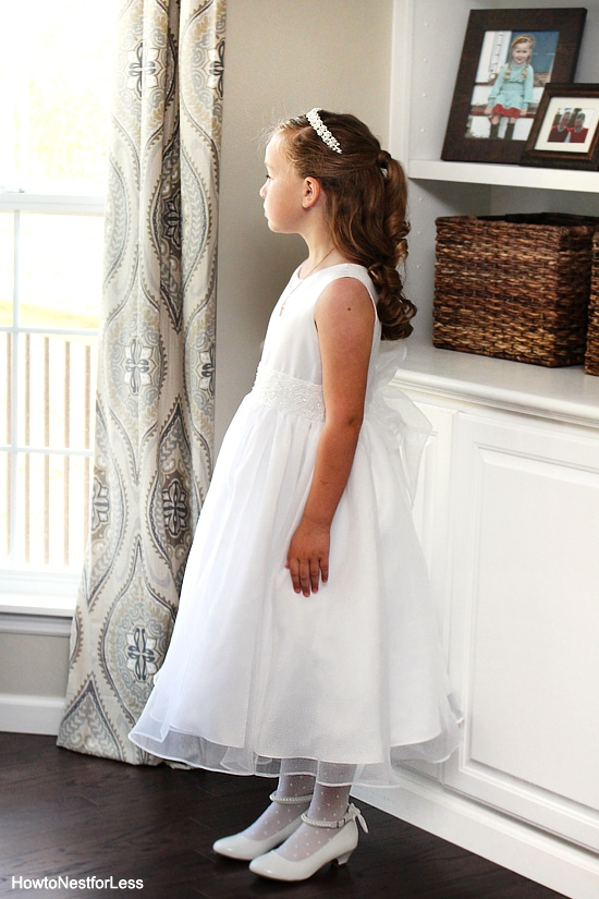 Ellie first communion dress