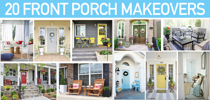 Front Porch Makeovers How To Nest For Less - Front porch makeover ideas
