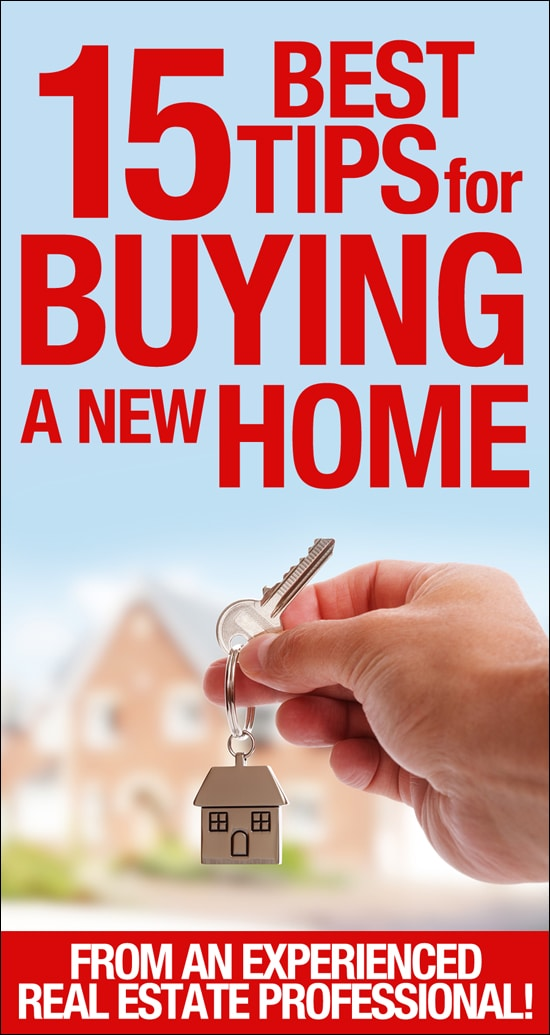 15 Best Tips for BUYING a new home! Love these tips and tricks!!