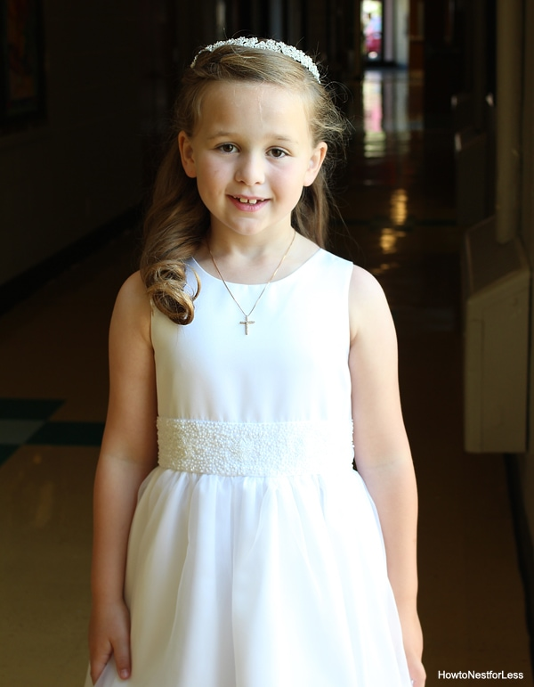 first communion Ellie
