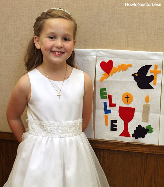 first communion banner