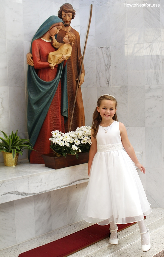 first communion ellie photo