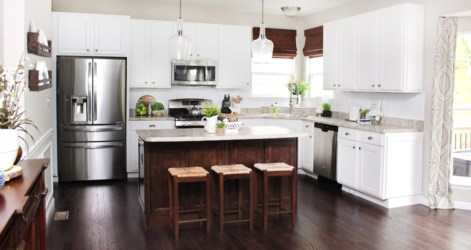 DIY Kitchen Platter Rack