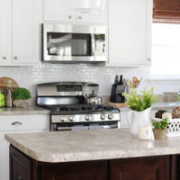 Self-Adhesive Kitchen Backsplash
