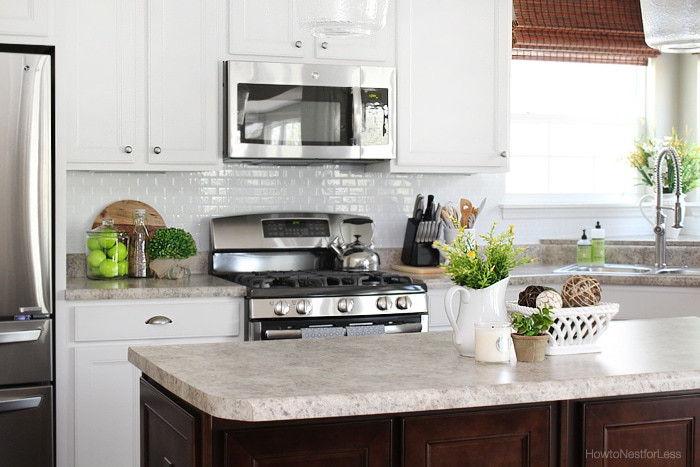 kitchen smart tiles white backsplash