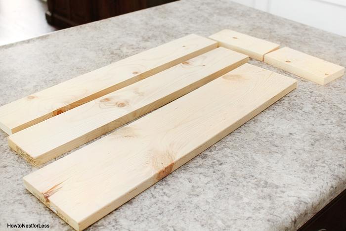 table trough centerpiece