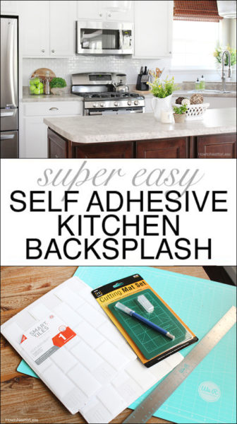self adhesive kitchen backsplash how to nest for less