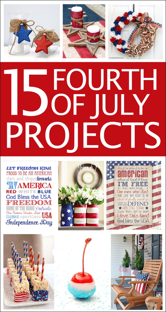 15 fourth of july projects