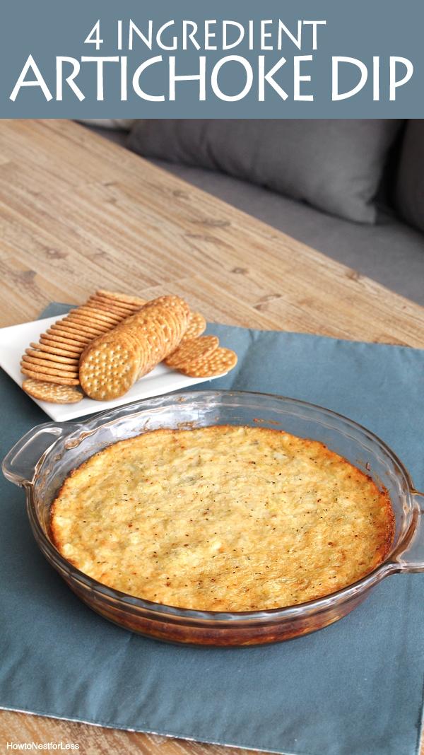 4 ingredient artichoke dip recipe