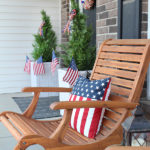 Patriotic Front Porch Makeover