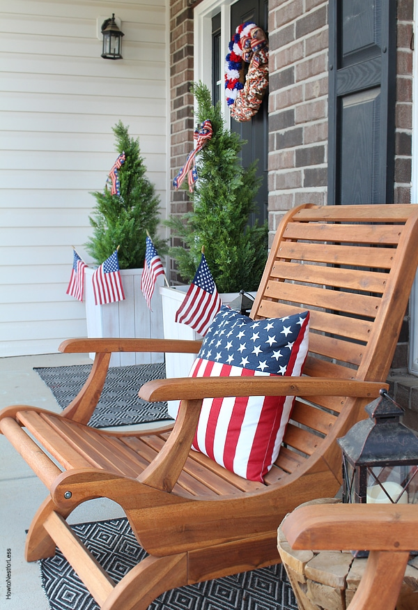4th of july front porch