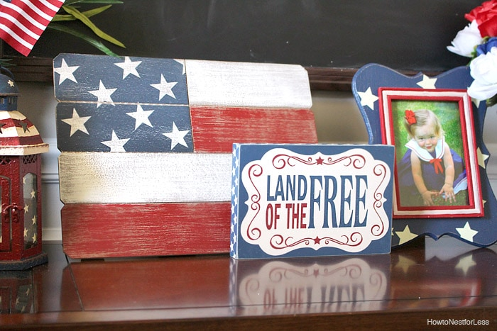 4th of july home decor ideas