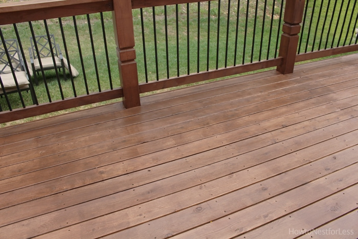 behr stained deck