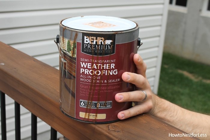 behr wood stain