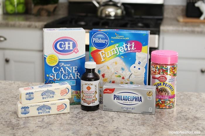 cake batter dip ingredients