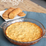 4 Ingredient Artichoke Dip
