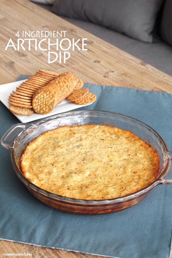 easy artichoke dip