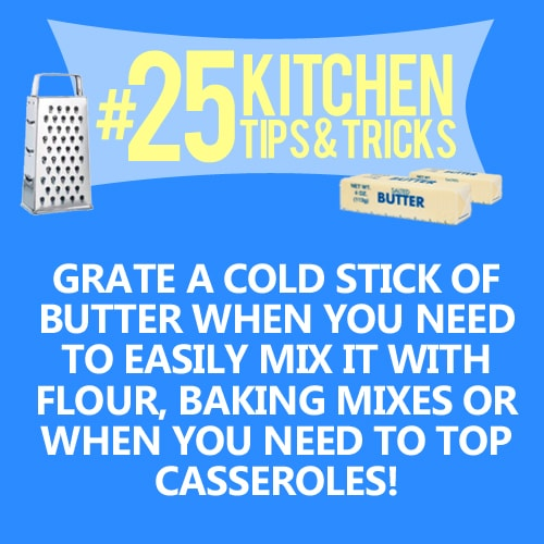 kitchen cooking tips and tricks