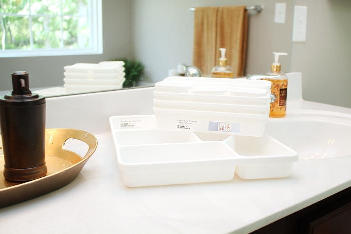 master bath organization