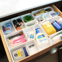 Master Bathroom Organization