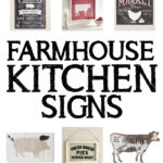 15 Farmhouse Kitchen Signs