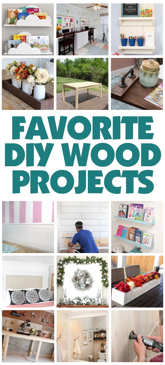 favorite diy wood projects