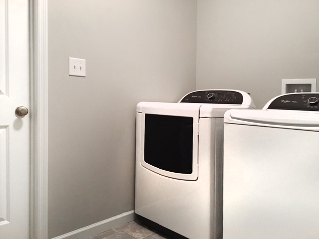 laundry room make over paint