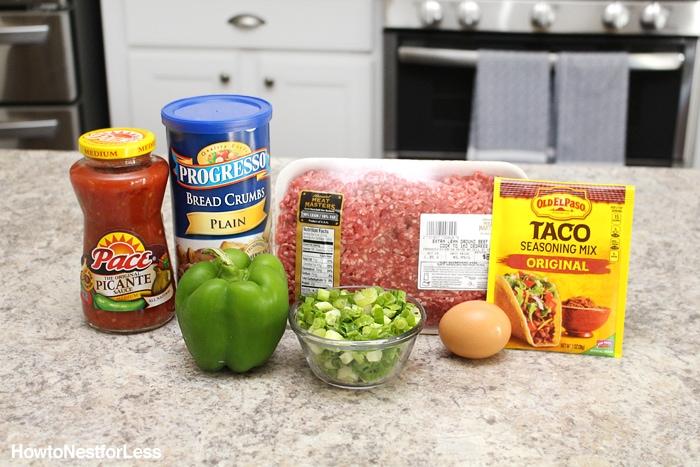 mexican meatballs ingredients