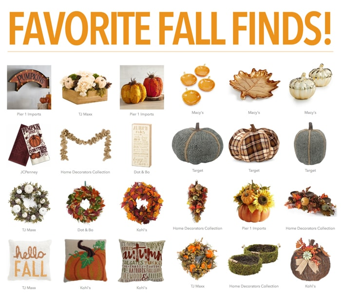 Favorite Fall Finds And Free Printable