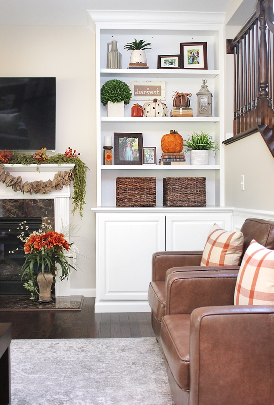 fall house tour fam room