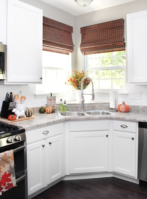 fall kitchen house tour