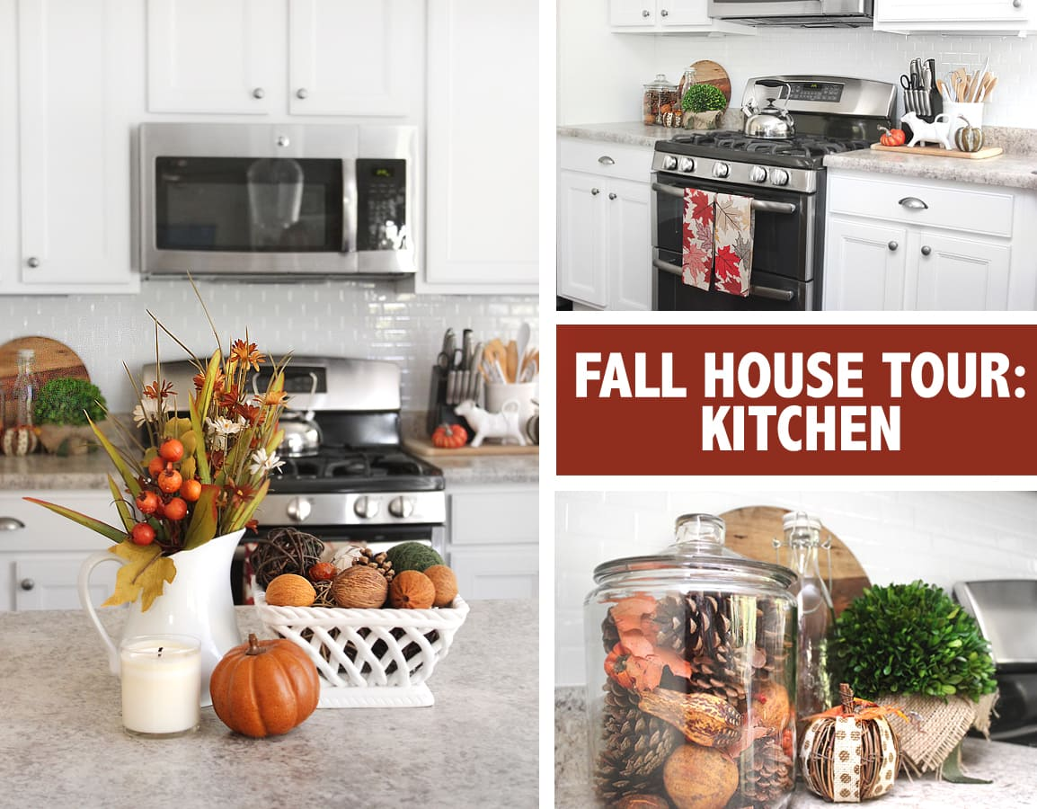 fall kitchen tour