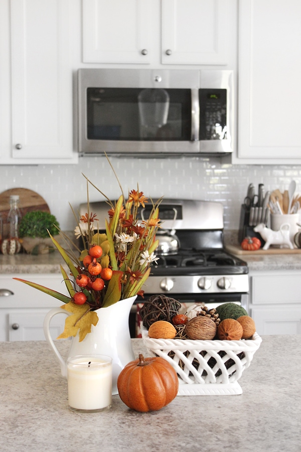kitchen fall decorations