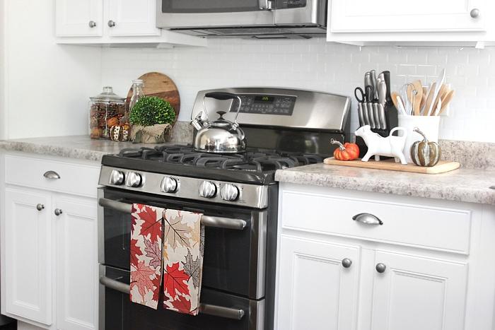 kitchen fall house tour