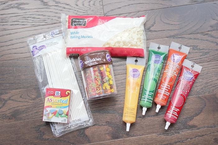 rice krispie pops decorations