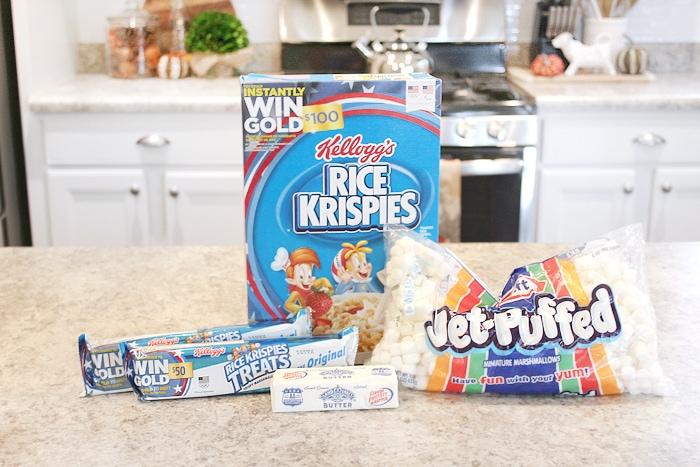 rice krispie pops ingredients