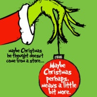 Grinch Free Christmas Printable