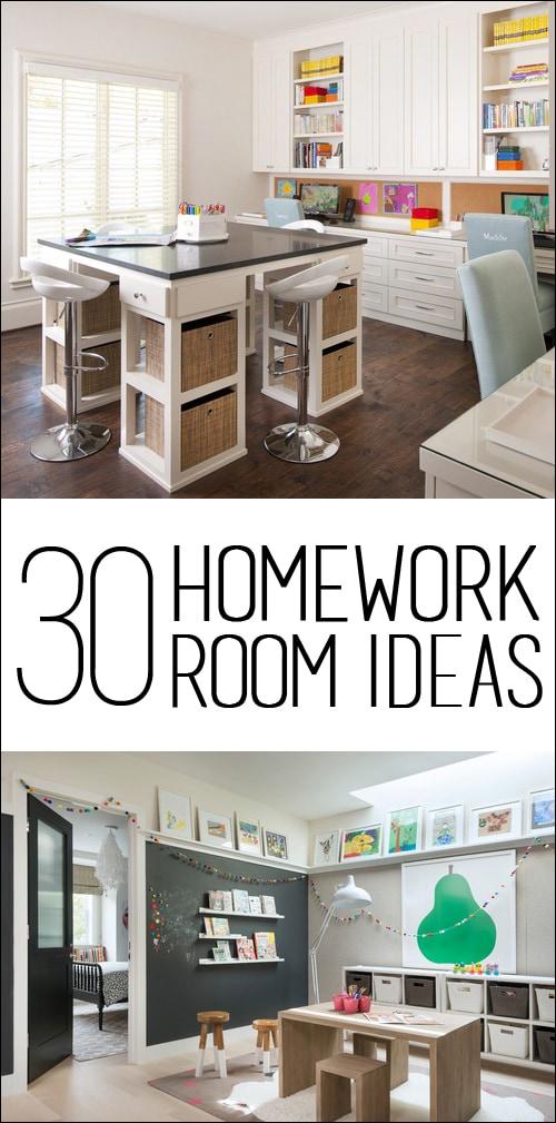 30 Homework Room Ideas How To Nest For Less