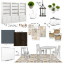 Homework Room Mood Board